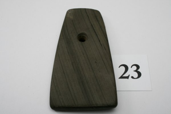 23: Banded Slate Pendant