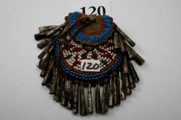 120: Beaded Strike-a-lite Bag