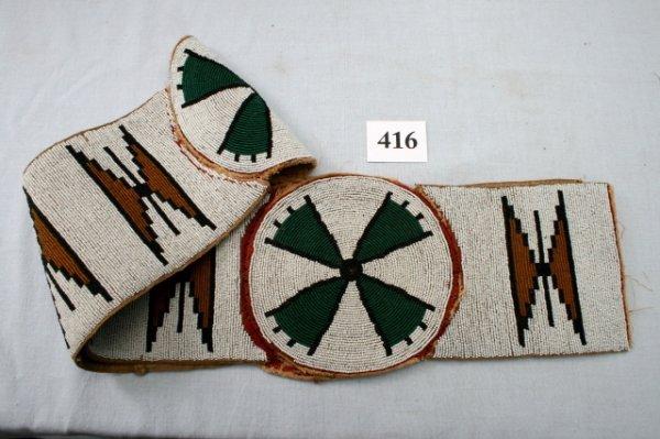 416: Blackfoot Blanket Strip