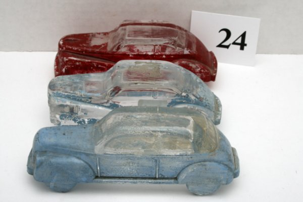 24: 3 Automobile Candy Containers