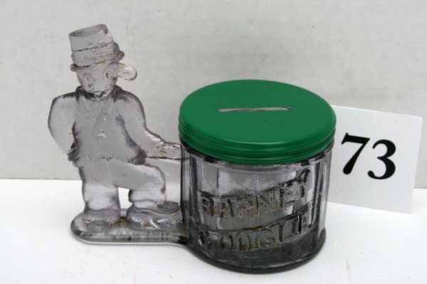 73: Barney Google and Bank Candy Container