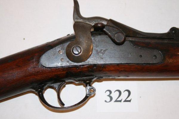 "322: 45 – 70"" Springfield Indian Gun"