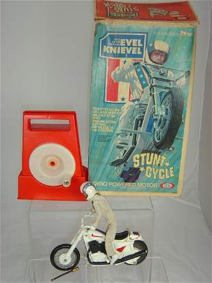 Ideal Evel Knievel Stunt Cycle