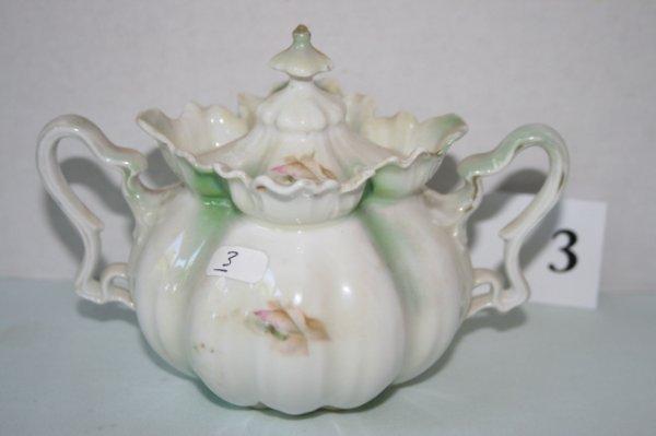3: Red Mark (also Royal Vienna) sugar bowl
