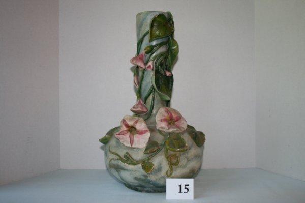 15: Large 15 in. Amphora vase