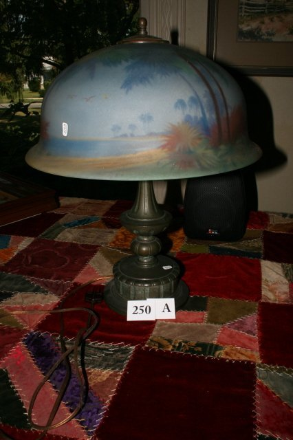 """250A: table lamp - pairpoint"""""""