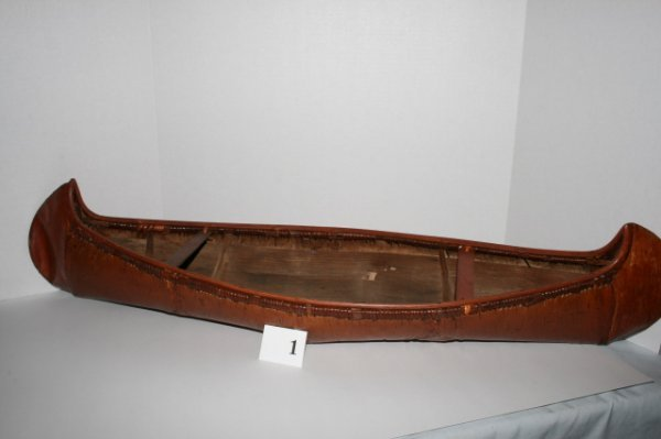 1: Birch Bark Canoe