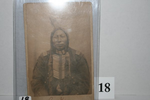 18: Photo of Little Big Horn Veteran Crow King