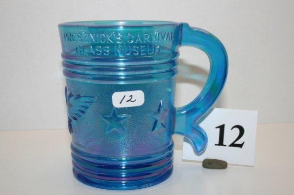 12: Imperial Iridescent Blue Mug