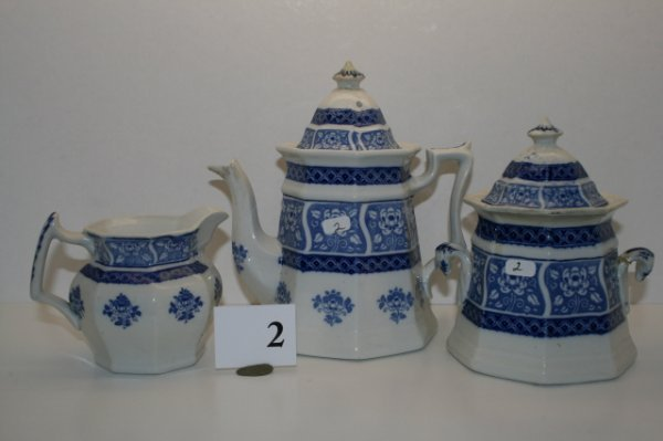2: 3 pc. Tea Set