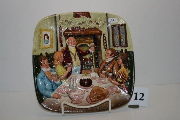 "12: 8"" Beswick Royal Doulton Plate"