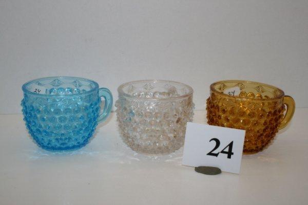 24: 3 Findlay Double Eye Cups