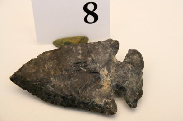 8: Cochocton Flint Archaic Bevel