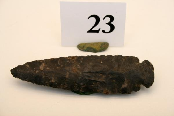 23: Cochocton Flint Dovetail Point