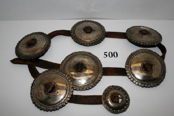 500: Navajo 1st Phase Concho Belt