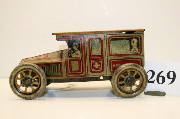 269: Tin Toy Ambulance