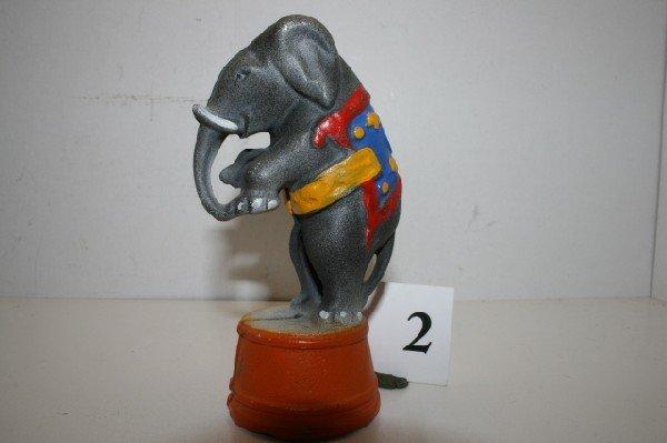 2: A.C. Williams Elephant on tub