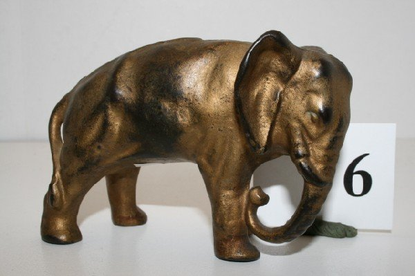 6: Arcade Elephant Tucked Trunk