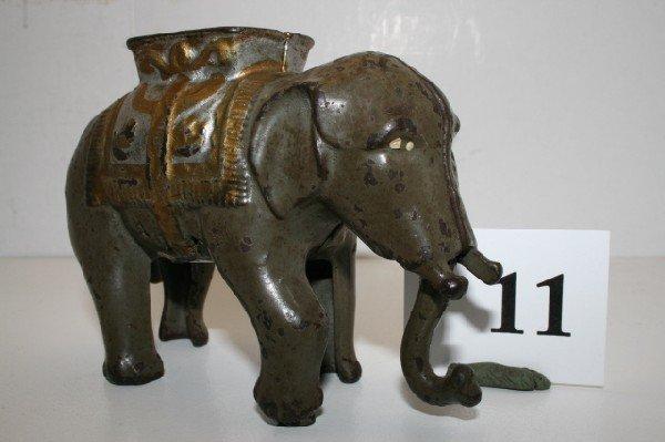 11: A.C. Williams Elephant Swinging Trunk