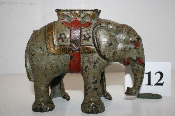 12: Short Trunk Elephant with Howdah
