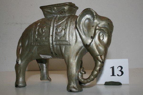 13: A.C. Williams Elephant with Howdah