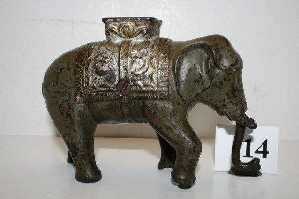 14: Elephant Swing Trunk