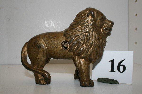 16: A.C. Williams Gold Lion