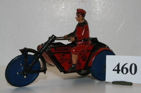 460: Marx Indian with Side Car