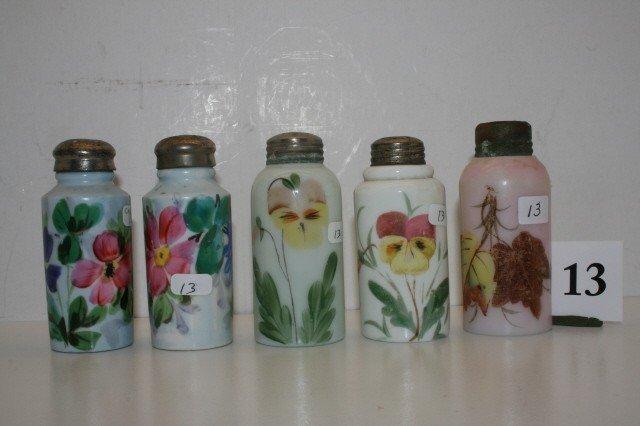 13: (5) Salt Shakers
