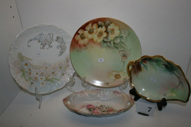 7: 4 pc. of Decorated China
