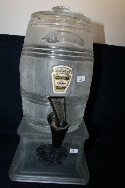 18: Heinz Cider Dispenser