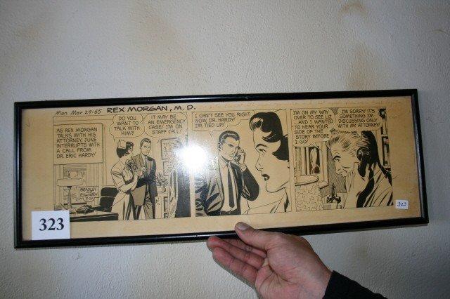 323: Rex Morgan M.D. Comic Strip
