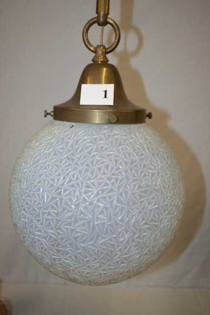 1: Ceiling Fixture with Phoenix Ball