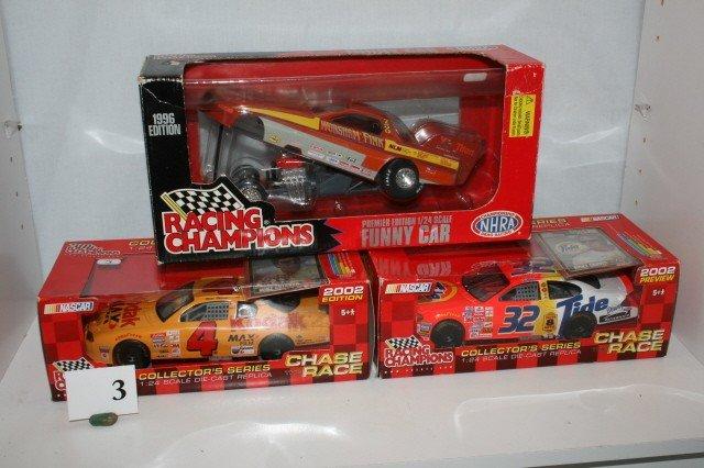 3: 2 NASCAR and 1 NHRA