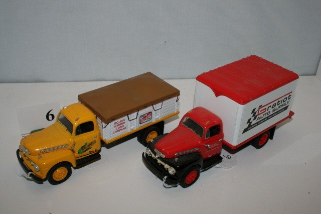 6: 2 Delivery Trucks