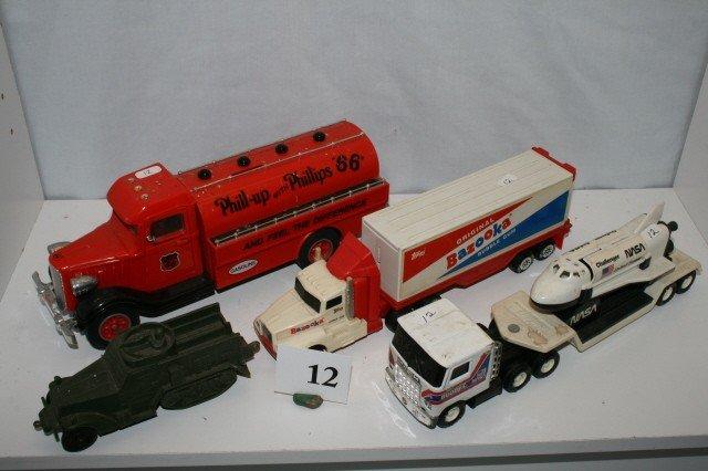 12: Set of 4 Plastic Toys