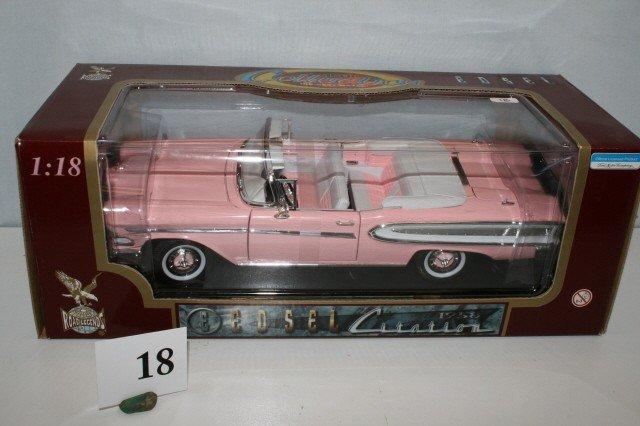18: 1958 Edsel Citation Convertible