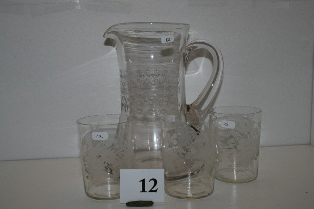 12: Needle Etch Pitcher