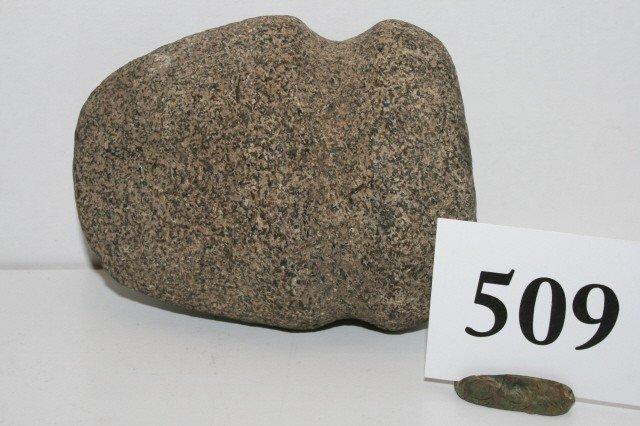 509: Full Groove Granite Axe
