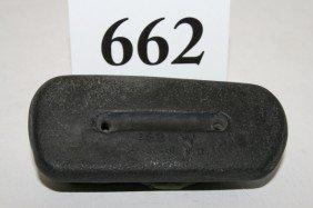 Black Slate 2 Hole Gorget
