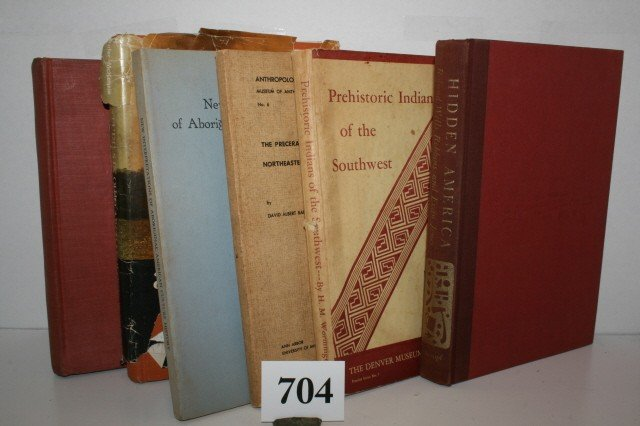 704: 14 books on Archaeology