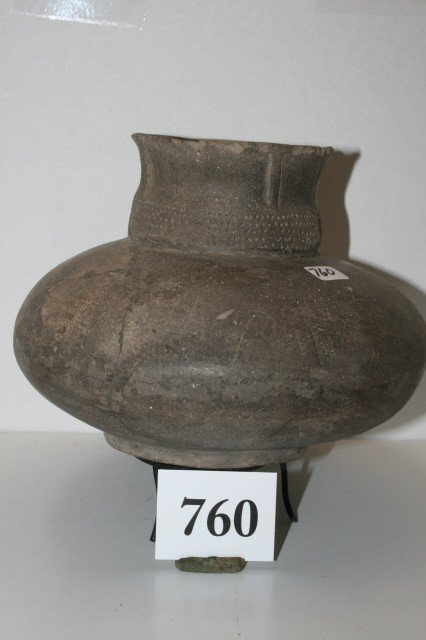 760: Shell Tempered Pot