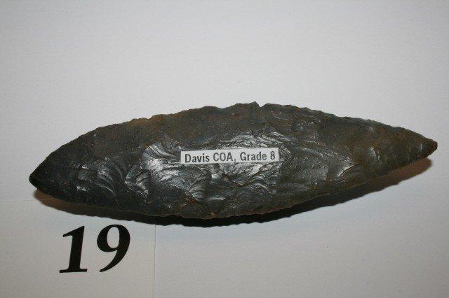 19: Hornstone Bi-Pointed Knife