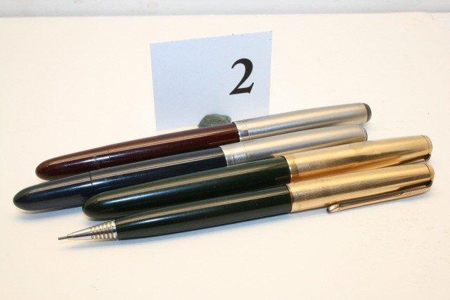 """2: Parker """"51"""" Pen/ Pencil Set"""