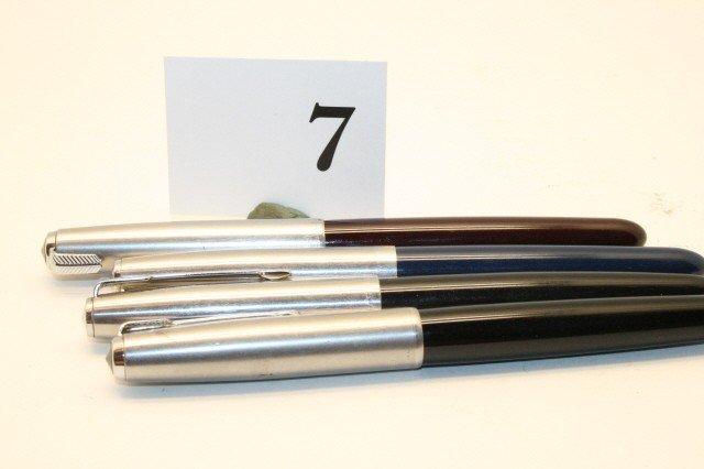 7: 4 Parker Pens