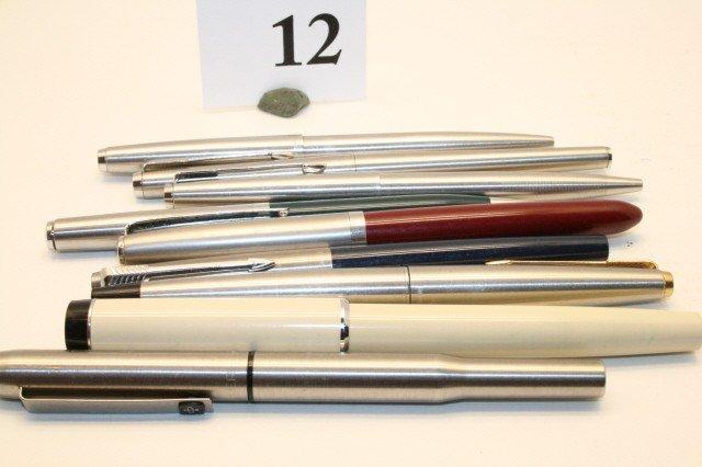 12: 9 – Parker Pens and Pencils