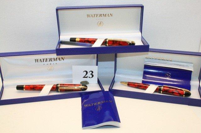"""23: Waterman's """"Phileas"""", Pens"""