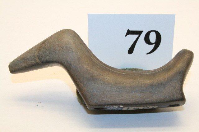 79: Banded Slate Birdstone