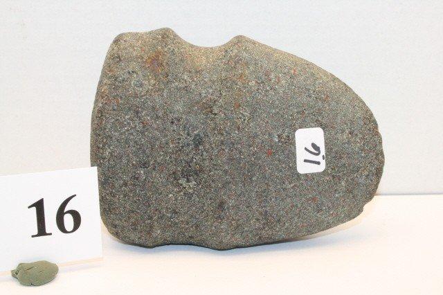 16: ¾ Groove Granite Axe