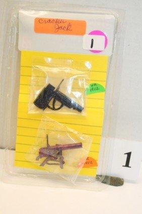 1: 2 Gun to put wooden match in Barrel shot gun 4 foot